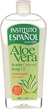 Düfte, Parfümerie und Kosmetik Körperöl Aloe Vera - Instituto Espanol Aloe Vera Body Oil