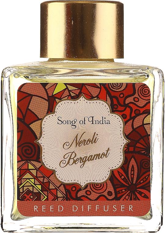 Aroma-Diffusor mit Duftholzstäbchen Neroli & Bergamotte - Song of India