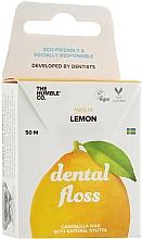 Düfte, Parfümerie und Kosmetik Zahnseide Zitrone - The Humble Co. Dental Floss Lemon