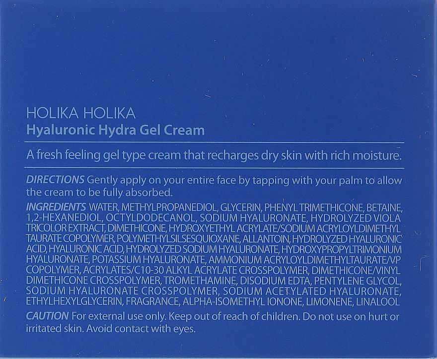 Creme-Gel mit Hyaluronsäure - Holika Holika Hyaluronic Hydra Gel — Bild N3