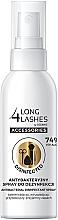Düfte, Parfümerie und Kosmetik Antibakterielles Desinfektionsspray für Make-up Zubehör - Long4Lashes Antibacterial Disinfected Accessories Spray 74% Alcohol