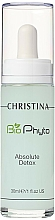 Düfte, Parfümerie und Kosmetik Entgiftendes zellerneuerndes Gesichtsserum - Christina Bio Phyto Absolute Detox Serum