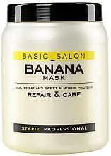 Düfte, Parfümerie und Kosmetik Jasmine Maske für erschöpftes Haar - Stapiz Basic Salon Banana Mask