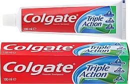 Düfte, Parfümerie und Kosmetik Zahnpasta Triple Action Original Mint - Colgate Triple Action Original Mint