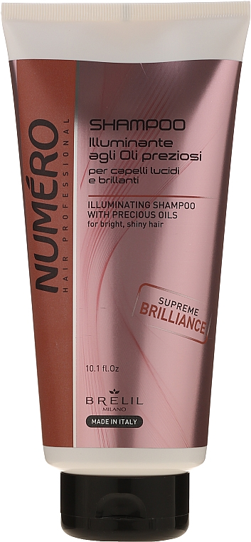 Shampoo mit Makassaröl - Brelil Numero Hair Professional Beauty Macassar Oil Shampoo