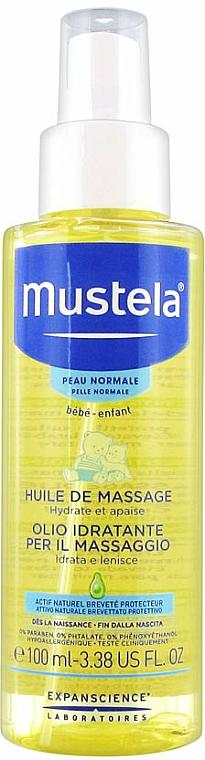 Beruhigendes und feuchtigkeitsspendendes Massageöl für Kinder - Mustela Bebe Massage Oil