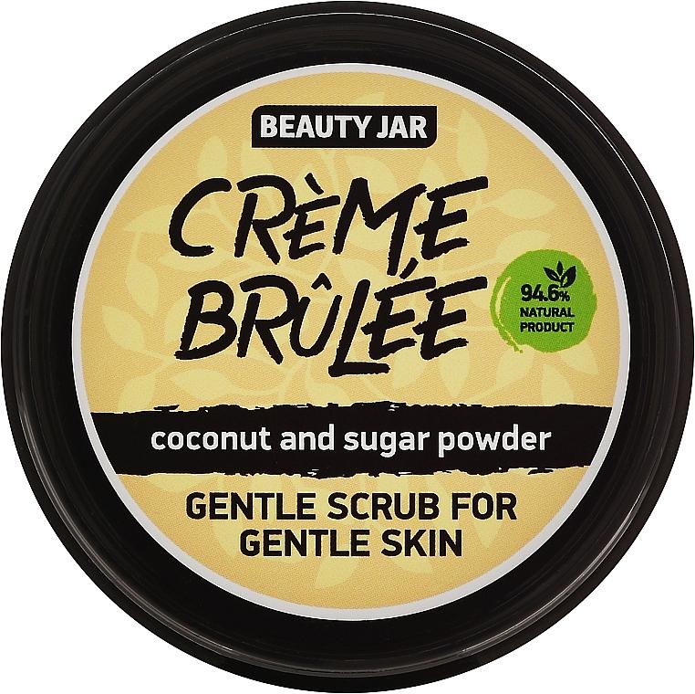 Sanftes Gesichtspeeling mit Kokosnuss und Puderzucker - Beauty Jar Gentle Scrub For Gentle Skin