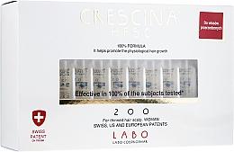 Düfte, Parfümerie und Kosmetik Ampullen gegen beginnenden Haarausfall für Damen - Labo Crescina HFSC 200 Re-Growth Woman