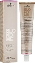 Düfte, Parfümerie und Kosmetik Tonercreme für blondes Haar - Schwarzkopf Professional BlondMe Blonde Toning