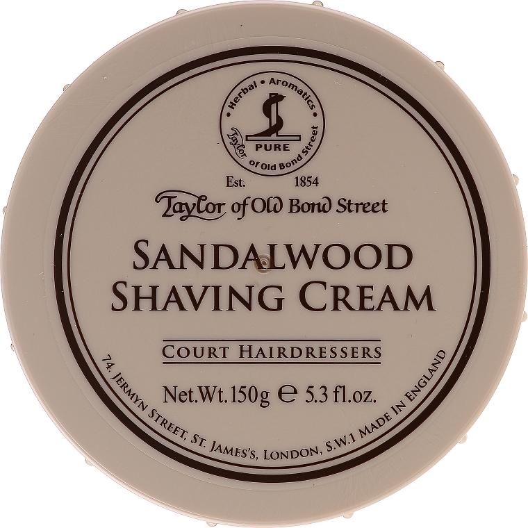 Rasiercreme mit Sandelholzduft - Taylor of Old Bond Street Sandalwood Shaving Cream Bowl