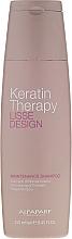 Düfte, Parfümerie und Kosmetik Sulfatfreies Pflegeshampoo mit Keratin - Alfaparf Lisse Design Keratin Therapy Maintenance Shampoo