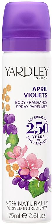 Yardley April Violets - Deospray