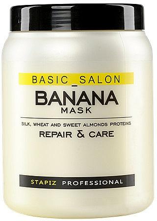 Jasmine Maske für erschöpftes Haar - Stapiz Basic Salon Banana Mask