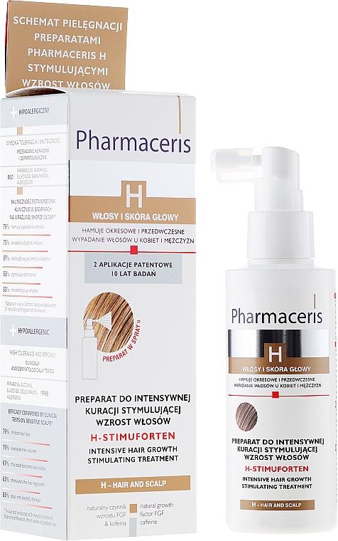 Intensive stimulierende Behandlung zum Haarwachstum - Pharmaceris H-Stimupurin Itensive Hair Growth Stimulating Treatment