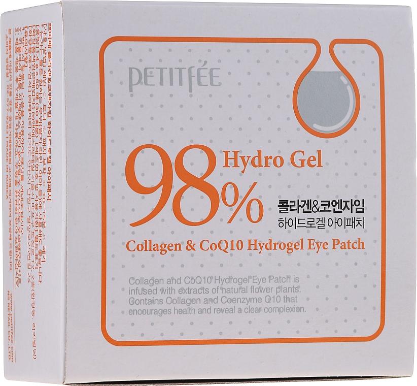 Hydrogel-Augenpatches mit Kollagen und Coenzym Q10 - Petitfee & Koelf Collagen & Co Q10 Hydrogel Eye Patch