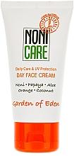 Pflegende Gesichtscreme mit Aloe Vera, Orange, Papaya, Noni, Kokosnuss und UV-Schutz - Nonicare Garden Of Eden Day Face Cream — Bild N2