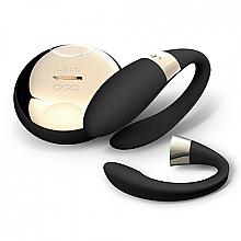 Düfte, Parfümerie und Kosmetik Biegsamer Paar-Vibrator mit Sensemotion Steuerung schwarz - Lelo Tiani 2 Design Edition