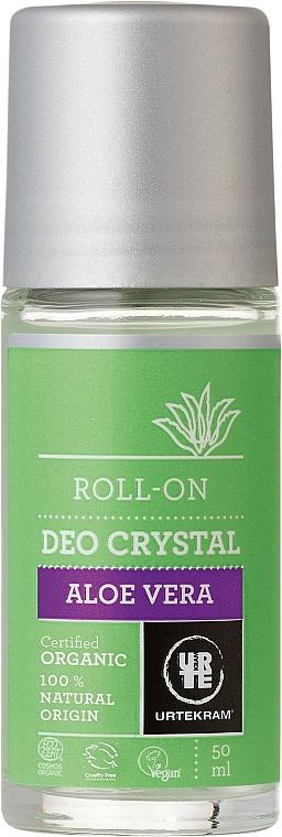 Deo Roll-on mit Aloe Vera und Orangenduft - Urtekram Deo Crystal Aloe Vera