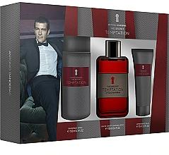 Düfte, Parfümerie und Kosmetik Antonio Banderas The Secret Temptation - Duftset (Eau de Toilette 100ml + Deodorant 150ml + After Shave Balsam 75ml)