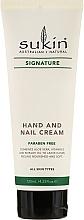 Düfte, Parfümerie und Kosmetik Hand- und Nagelcreme - Sukin Hand & Nail Cream