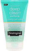 Düfte, Parfümerie und Kosmetik Reinigendes und kühlendes Gesichtsgel-Peeling mit Salicylsäure - Neutrogena Skin Detox Cooling Gel Scrub