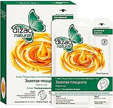 Düfte, Parfümerie und Kosmetik Zweistufige Augenmaske Goldene Plazenta - Dizao
