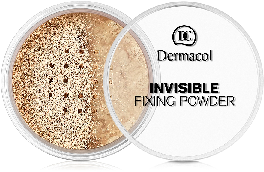 Transparenter loser Fixierpuder - Dermacol Invisible Fixing Powder
