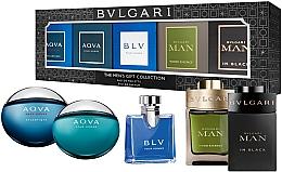 Düfte, Parfümerie und Kosmetik Duftset - Bvlgari The Men'S Gift Collection (Eau de Parfum 2x5ml + Eau de Toilette 3x5ml)