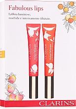 Düfte, Parfümerie und Kosmetik Makeup Set (Lipgloss 2x12ml) - Clarins Fabulous Lips