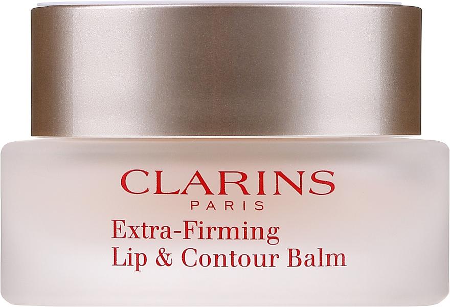 Beruhigender Balsam mit Himbeersamenöl und Sheabutter für rissige Lippen - Clarins Extra-Firming Lip & Contour Balm