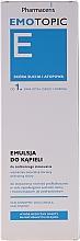 Düfte, Parfümerie und Kosmetik Reinigende und feuchtigkeitsspendende Körperemulsion für Kinder und Erwachsene - Pharmaceris Emotopic E Emulsion