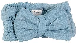 Düfte, Parfümerie und Kosmetik Kosmetisches Haarband aus Mikrofaser blau - Nacomi