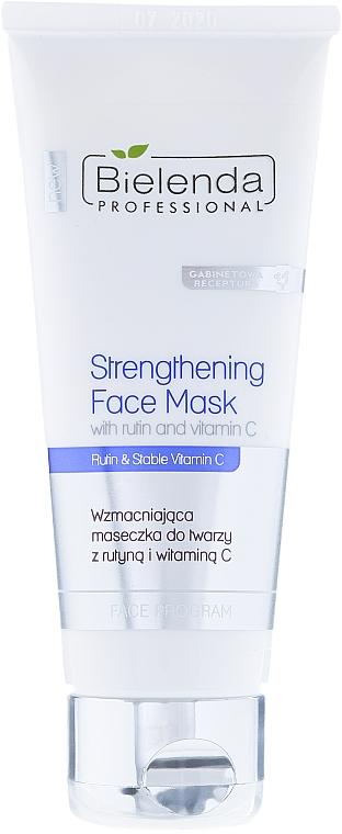 Gesichtsmaske gegen Rötungen und Couperose mit Vitamin C - Bielenda Professional Program Face Strengthening Face Mask