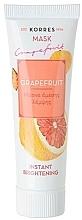 Düfte, Parfümerie und Kosmetik Aufhellende Gesichtsmaske mit Grapefruit - Korres Grapefruit Instant Brightening Mask