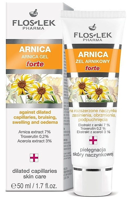 Augengel mit Arnika - Floslek Gel Arnica Forte