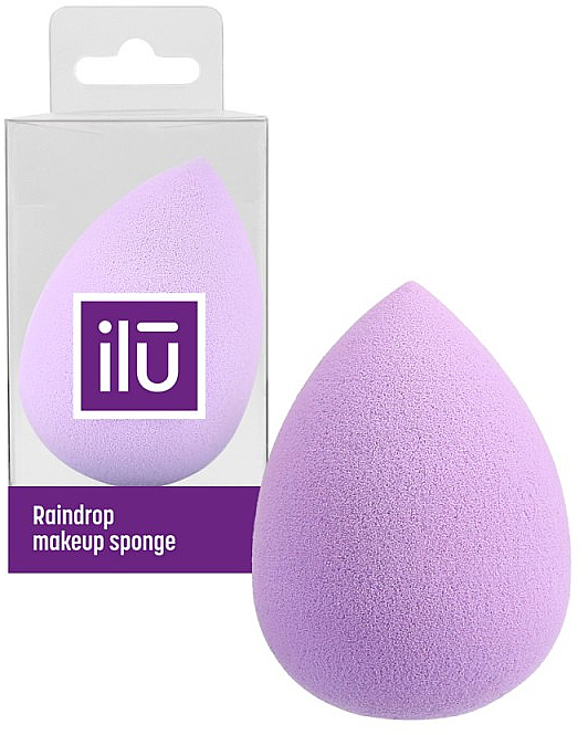 Schminkschwamm violett - Ilu Sponge Raindrop Purple