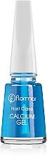 Düfte, Parfümerie und Kosmetik Kalzium-Aufbaukur für brüchige und empfindliche Nägel - Flormar Nail Care Calcium Gel