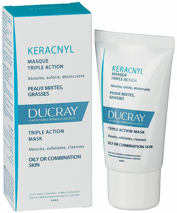 Gesichtsmaske für Problemhaut - Ducray Keracnyl Masque Triple Action — Bild N2