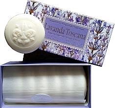 Düfte, Parfümerie und Kosmetik Toskana Lavendel Seifen-Set - Saponificio Artigianale Fiorentino Lavender Toscana (Seife/6x50g)
