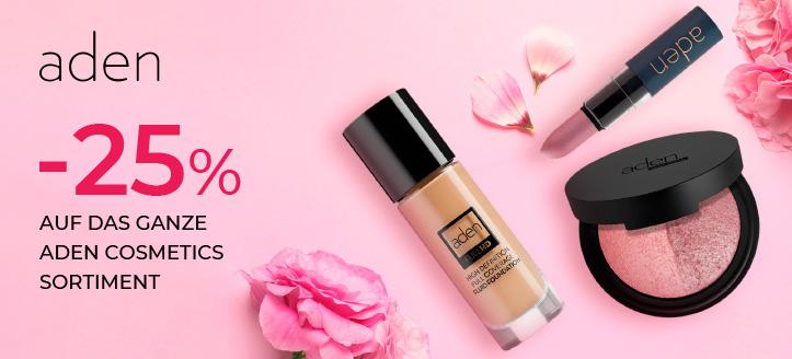 Sonderaktion von  Aden Cosmetics