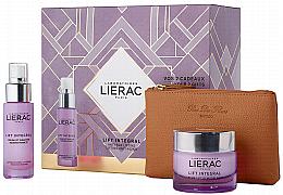 Düfte, Parfümerie und Kosmetik Gesichtspflegeset - Lierac Lift Integral (Gesichtscreme 50ml + Gesichtsserum 30ml + Kosmetiktasche)