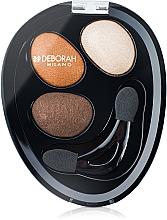 Düfte, Parfümerie und Kosmetik Lidschatten-Trio - Deborah Hi-Tech Eye Shadow Trio