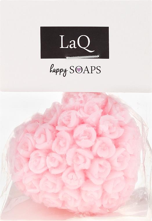 Handgemachte Naturseife Herz mit Kirschduft - LaQ Happy Soaps Natural Soap