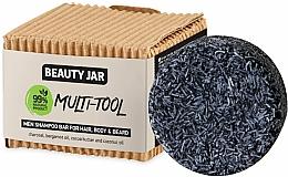 Düfte, Parfümerie und Kosmetik Festes Männershampoo für Haar, Körper und Bart - Beauty Jar Multi-Tool Men Shampoo Bar For Hair, Body & Beard