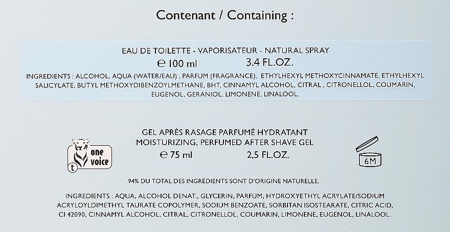 Lolita Lempicka Homme - Duftset (Eau de Toilette 100ml + After Shave Gel 75ml + Kosmetiktasche) — Bild N3