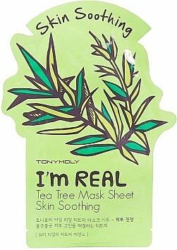 Tuchmaske mit Teebaum - Tony Moly I'm Real Tea Tree Mask Sheet