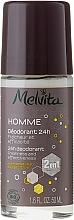 Düfte, Parfümerie und Kosmetik Deospray - Melvita Homme 24H Deodorant