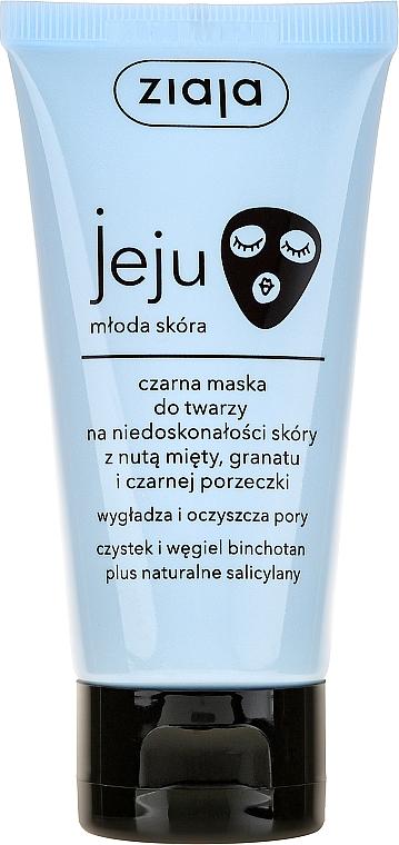 Schwarze Gesichtsmaske für unreine Haut - Ziaja Jeju
