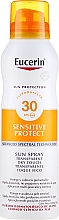 Düfte, Parfümerie und Kosmetik Sonnenschutzspray für den Körper SPF 30 - Eucerin Sun Protection Transparent Sun Spray Dry Touch SPF 30