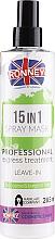 Düfte, Parfümerie und Kosmetik 15in1 Haarspray für dickes und widerspenstiges Haar - Ronney 15in1 Spray Mask Professional Express Treatment Leave-In